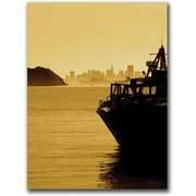 """Trademark Global Colleen Proppe """"Ferry From Tiburon"""" Canvas Art, 24"""" x 18"""""""
