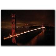"Trademark Global Colleen Proppe ""Golden Gate II"" Canvas Art, 16"" x 24"""