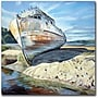 Trademark Global Colleen Proppe Inverness Boat Canvas Art,