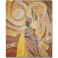 Trademark Global Djibrirou Kane in.Caring and Dedicated Momin. Canvas Arts