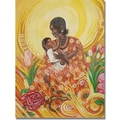 Trademark Global Djibrirou Kane in.Expressions of Affectionin. Canvas Arts