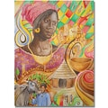 Trademark Global Djibrirou Kane in.Fulani Beautyin. Canvas Arts