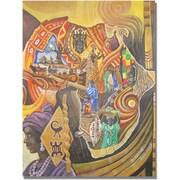 "Trademark Global Djibrirou Kane ""Image and Colors of Africa"" Canvas Arts"