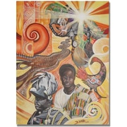 "Trademark Global Djibrirou Kane ""Pan Africanism"" Canvas Arts"