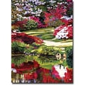 Trademark Global David Glover in.Rhododendron Reflectionsin. Canvas Art, 32in. x 24in.