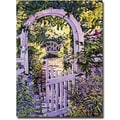 Trademark Global David Glover in.Country Garden Gatein. Canvas Art, 32in. x 24in.