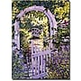 Trademark Global David Glover Country Garden Gate Canvas