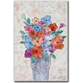 Trademark Global Garner Lewis in.Flowers in Bloomin. Canvas Art, 24in. x 16in.