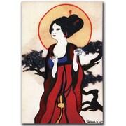 Trademark Global Garner Lewis Japanese Woman Canvas Art, 47 x 30