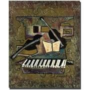 """Trademark Global Garner Lewis """"Strings"""" Canvas Art, 32"""" x 26"""""""