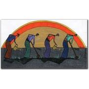 "Trademark Global Garner Lewis ""The Harvest"" Canvas Art, 24"" x 47"""