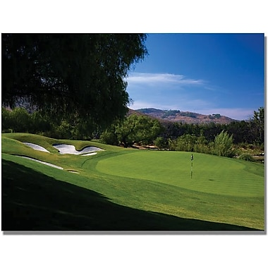 Trademark Global in.Approaching the Green Golfin. Canvas Art, 18in. x 24in.