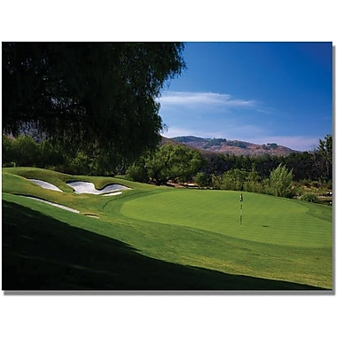 Trademark Global in.Approaching the Green Golfin. Canvas Art, 35in. x 47in.