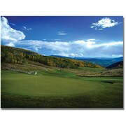 "Trademark Global ""From the Green to the Fairway Golf"" Canvas Art, 24"" x 32"""