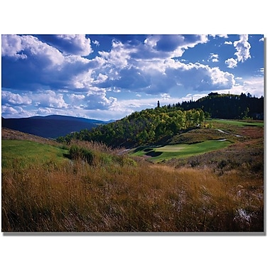 Trademark Global Colleen Proppe in.Golfer's Paradisein. Canvas Art, 24in. x 32in.