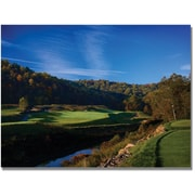 "Trademark Global ""Over the River and Through the Woods"" Canvas Arts"