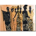 Trademark Global Garner Lewis in.The Second Gatheringin. Canvas Art, 14in. x 19in.