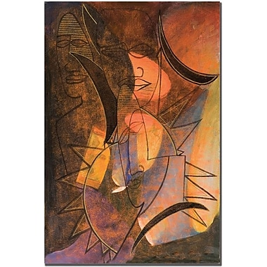 Trademark Global Garner Lewis in.My Soul is Alivein. Canvas Art, 24in. x 16in.