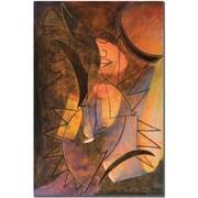 "Trademark Global Garner Lewis ""My Soul is Alive"" Canvas Art, 24"" x 16"""