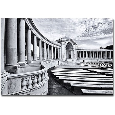 Trademark Global Gregory Ohanlon in.Arlington National Cemetery- Amphitheaterin. Canvas Arts
