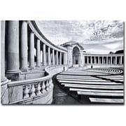 "Trademark Global Gregory Ohanlon ""Arlington National Cemetery- Amphitheater"" Canvas Art, 30"" x 47"""