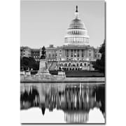 "Trademark Global Gregory Ohanlon ""Capitol Reflections II"" Canvas Art, 24"" x 16"""