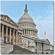 """Trademark Global Gregory Ohanlon """"Capitol- East Front"""" Canvas Art, 24"""" x 24"""""""