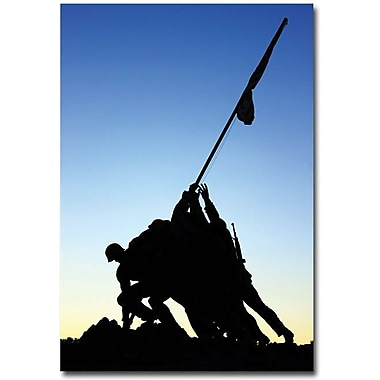 Trademark Global Gregory Ohanlon in.Iwo Jima Memorialin. Canvas Art, 24in. x 16in.