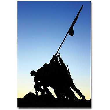 Trademark Global Gregory Ohanlon in.Iwo Jima Memorialin. Canvas Art, 47in. x 30in.