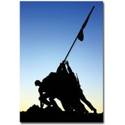 "Trademark Global Gregory Ohanlon ""Iwo Jima Memorial"" Canvas Art, 47"" x 30"""