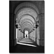 "Trademark Global Gregory Ohanlon ""Union Station Concourse"" Canvas Art, 47"" x 30"""