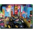 "Trademark Global Herbert Hofer ""Times Square"" Canvas Art, 24"" x 32"""