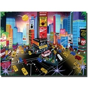 "Trademark Global Herbert Hofer ""Times Square"" Canvas Art, 24"" x 32"""