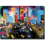 "Trademark Global Herbert Hofer ""Times Square"" Canvas Art, 35"" x 47"""