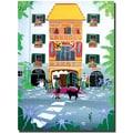 Trademark Global Herbert Hofer in.The Golden Roofin. Canvas Art, 32in. x 24in.