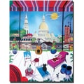Trademark Global Herbert Hofer in.Parisin. Canvas Art, 32in. x 24in.
