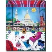 """Trademark Global Herbert Hofer """"Paris"""" Canvas Art, 32"""" x 24"""""""