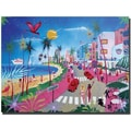 Trademark Global Herbert Hofer in.Ocean Drivein. Canvas Art, 18in. x 24in.