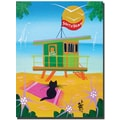 Trademark Global Herbert Hofer in.Life Guardin. Canvas Art, 32in. x 24in.