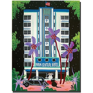 Trademark Global Herbert Hofer in.Park Centralin. Canvas Art, 32in. x 24in.
