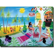 """Trademark Global Herbert Hofer """"La Curva"""" Canvas Art, 24"""" x 32"""""""