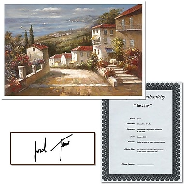 Trademark Global Joval in.Tuscanyin. Canvas Art, 24in. x 32in.