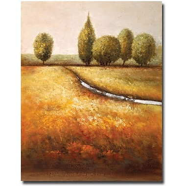 Trademark Global Joval in.In the Country Triptychin. Canvas Art, 24in. x 18in.