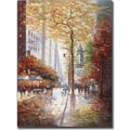 Trademark Global Joval in.French Street Scene IIin. Canvas Art, 24in. x 18in.