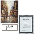 Trademark Global Joval in.French Street Scene Iin. Canvas Art, 32in. x 24in.