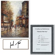 "Trademark Global Joval ""French Street Scene I"" Canvas Art, 32"" x 24"""