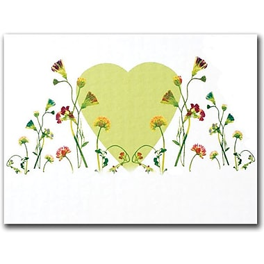 Trademark Global Kathie McCurdy 'The Heart is a Glorious Machine' Canvas Art