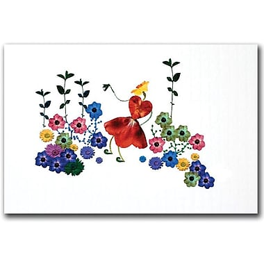 Trademark Global Kathie McCurdy in.Garden Magicin. Canvas Art, 16in. x 24in.