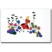 "Trademark Global Kathie McCurdy ""Garden Magic"" Canvas Art, 16"" x 24"""