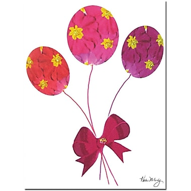 Trademark Global Kathie McCurdy in.Primrose Balloonsin. Canvas Art, 24in. x 18in.